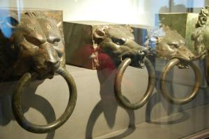 Wolf ornaments found on Caligula's ship