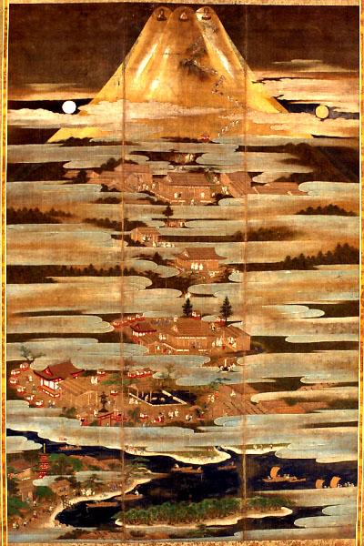 Fujisan Hongu Sengen Taisha in Fujinomiya, Shizuoka, Japan, late 16th century, Muromachi era