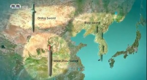 Three major sword-smithing and bronze centers of the Bronze Age