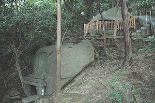 Iwafune Rock, Iwafune Jinja