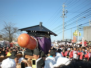 Hōnen Matsuri at Tagata Shrine in Komaki