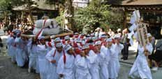 Harvest Festival at Oh-Agata Shrine (Hime-no-miya Shrine)