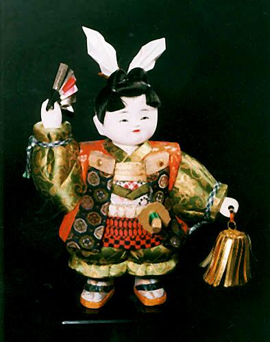 Momotaro doll