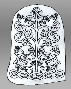 A clan generation tree of the Namay people from Eastern Siberia