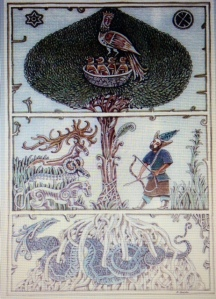 Source: Book of Serikbola Kondybay. Kazakh mythology