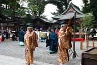 Reitaisai rituals, Hikawa Shrine