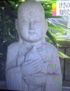 Jizo with sweet potato