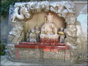 """Enoshima Jinja (image source: """"Enoshima and Kamakura"""", Divinity blog"""