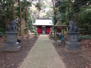 Sanrei-jinja shrine, Kamisu city, Ibaragi prefecture