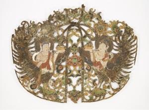 National Treasure Keman Buddhist sanctuary ornaments Heian period, 11th century Nara National Museum