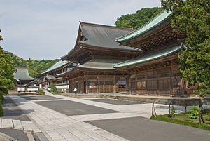 The garan at Kenchō-ji, head of the Kamakura Gozan