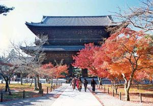 Kyoto's Nanzen-ji was the supervisor of the whole Five Mountain System in Japan