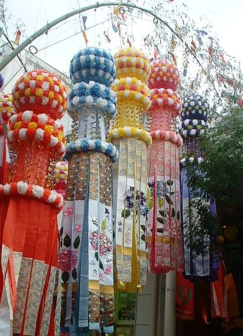 Sendai Tanabata (Source: Wikimedia Commons CC BY-SA 3.0, https://commons.wikimedia.org/w/index.php?curid=221621)